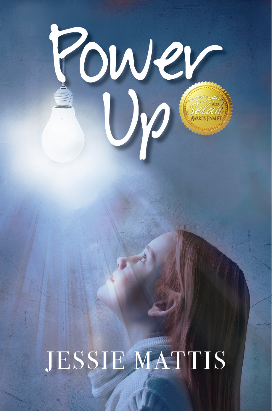 power up cover with award seal
